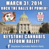 Keystone Cannabis Reform Rally in Harrisburg on March 31st