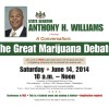 PhillyNORML Taking Part in Marijuana Legalization Forum Hosted by Sen. Tony Williams