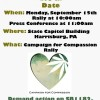 Harrisburg Medical Cannabis Rally Scheduled for Sept. 15th
