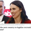 New Zealand's new prime minister, said the nation will hold a referendum over the next three years