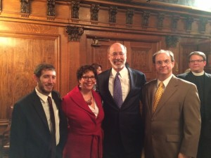 Governor Wolf meets with PhillyNORML activists